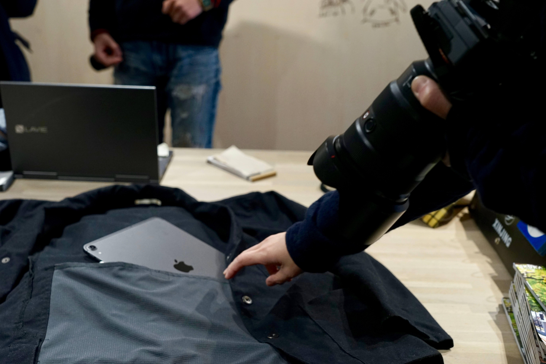 カワベさん自身も仕上がりに満足の様子。ジャケットも絶対喜んでいるはず。