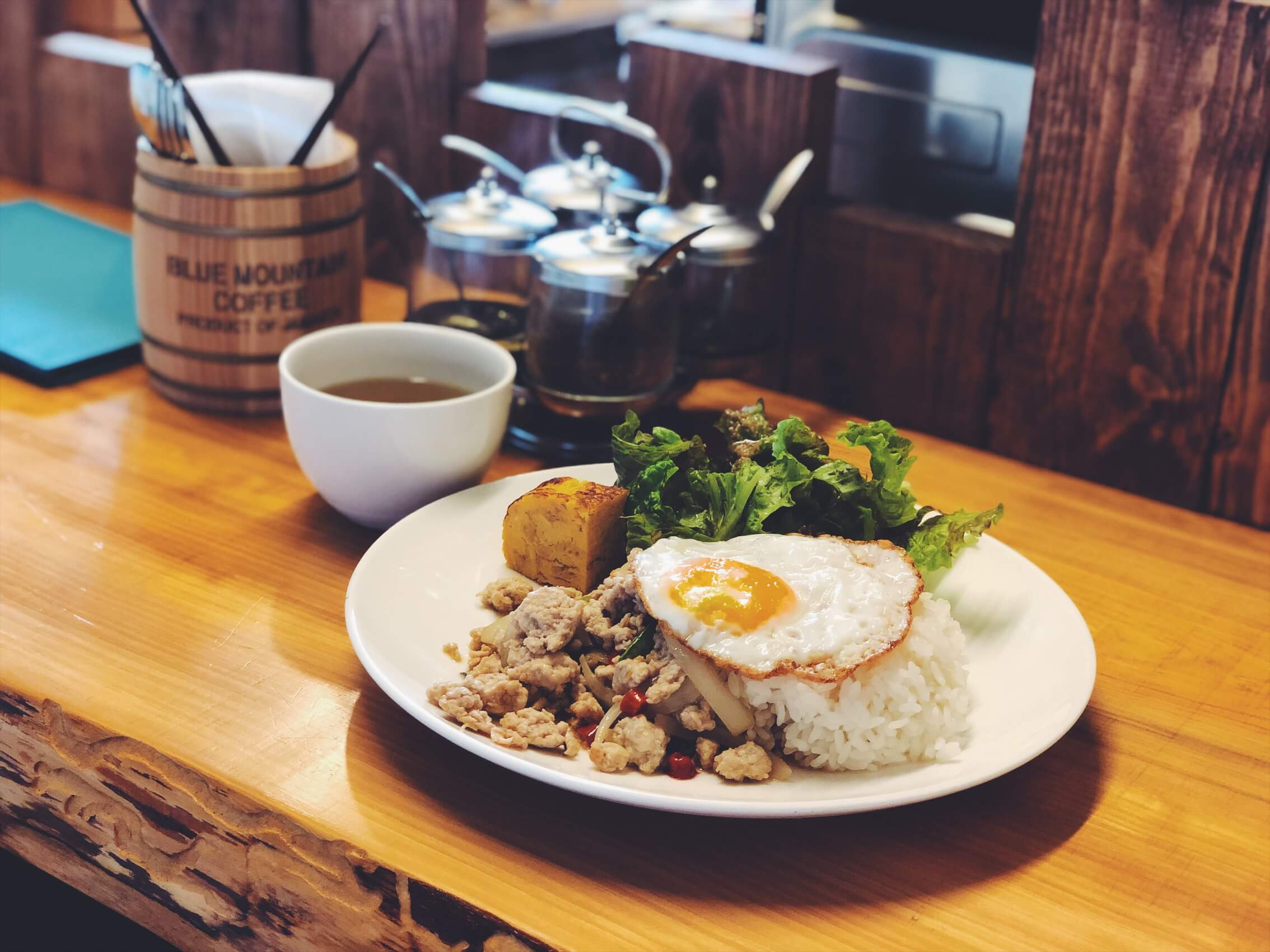 【南伊豆】ついつい長居しちゃう!ガパオとチャイが美味しいカフェ「らいおんキッチン」
